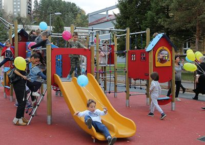 Project of building children's playground in Krcagovo, Uzice
