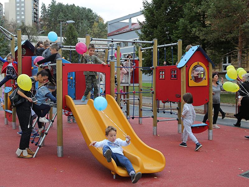Projekat izgradnje igrališta za decu u Krčagovu u Užicu